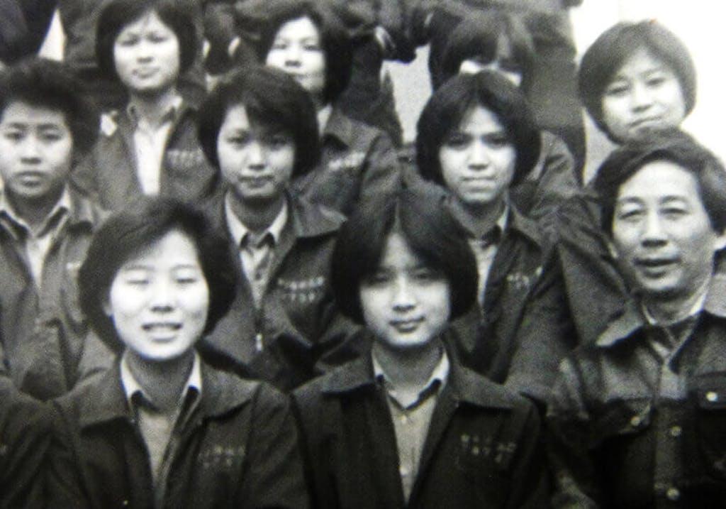 Mei-Ling at school