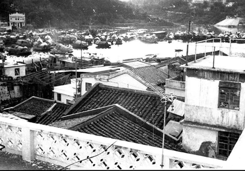 Mr. Liu returns to Hong Kong for the first time Sai kung fishing village, Hong Kong, 1971