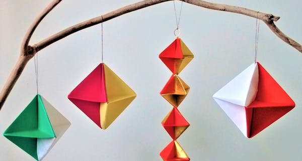 event image for Family Fun: Christmas Origami