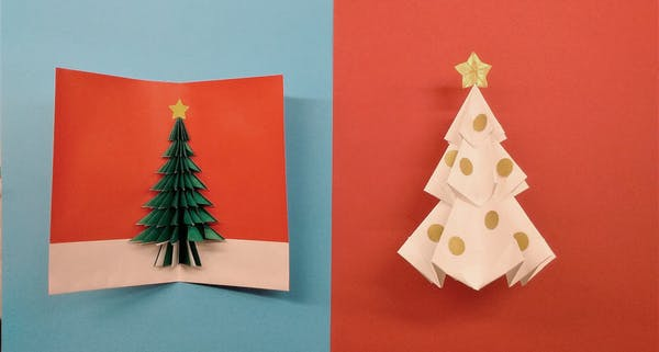 event image for Origami: Christmas tea light or card-making