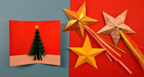 event image for Origami: Christmas magic stars or card-making