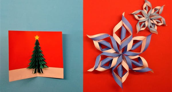 event image for Origami: tree decorations or card-making