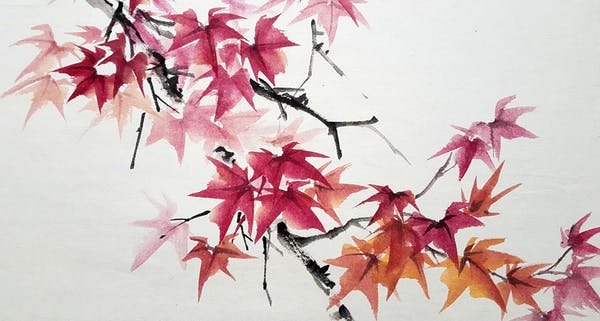 event image for Autumn Chinese Ink Painting Workshop